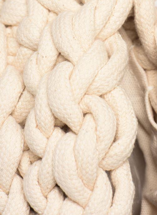 Bolsos de mano Alienina IDA ROUND CLUTCH Blanco vista lateral izquierda