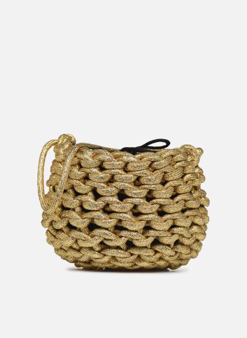 Sacs à main Alienina ANNE BUCKET BAG Or et bronze vue détail/paire