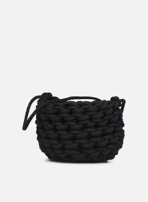 Sacs à main Alienina ANNE BUCKET BAG Noir vue portées chaussures