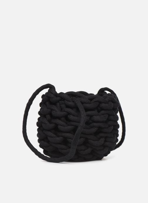 Bolsos de mano Alienina JULIA BUCKET BAG Negro vista lateral derecha