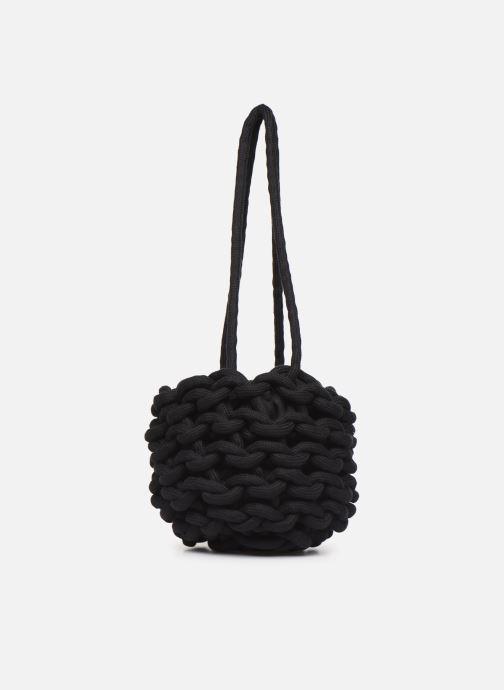 Sacs à main Alienina JULIA BUCKET BAG Noir vue derrière