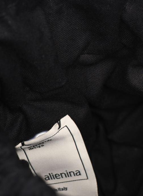 Sacs à main Alienina JULIA BUCKET BAG Or et bronze vue derrière