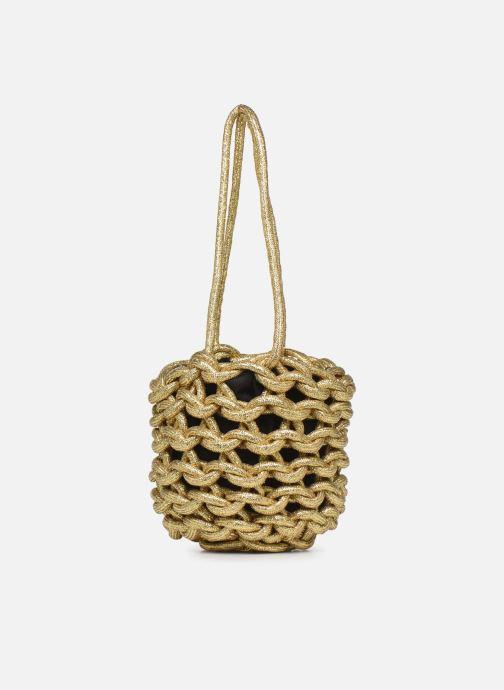 Sacs à main Alienina JULIA BUCKET BAG Or et bronze vue gauche