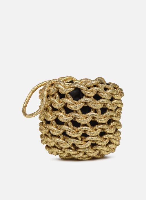 Sacs à main Alienina JULIA BUCKET BAG Or et bronze vue détail/paire