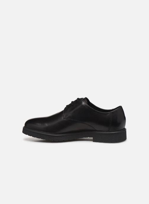 Chaussures à lacets Clarks Ashcroft Plain Noir vue face