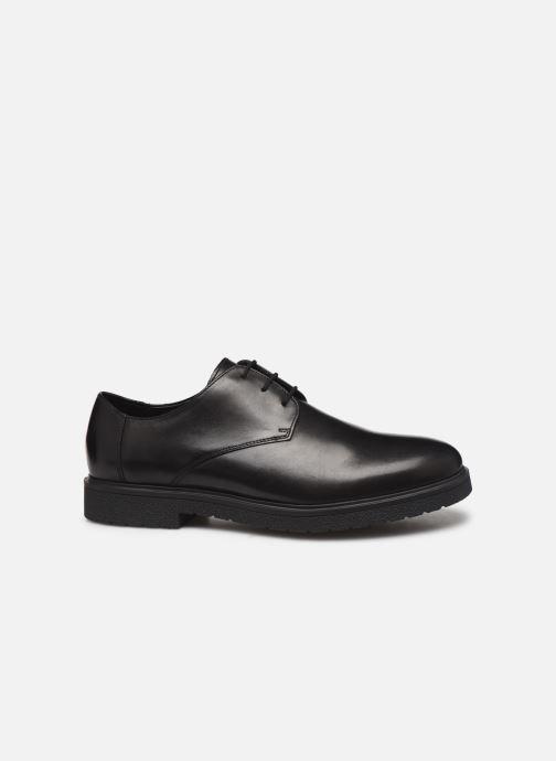 Chaussures à lacets Clarks Ashcroft Plain Noir vue derrière