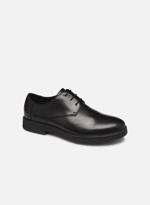 Snøresko Clarks Ashcroft Plain Sort detaljeret billede af skoene