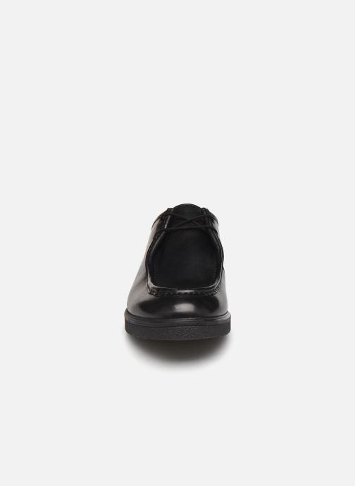 Snøresko Clarks Ashcroft Seam Sort se skoene på