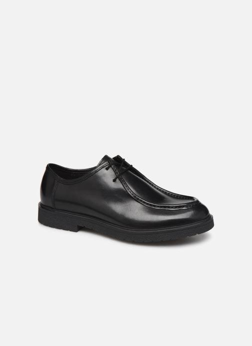 Snøresko Clarks Ashcroft Seam Sort detaljeret billede af skoene