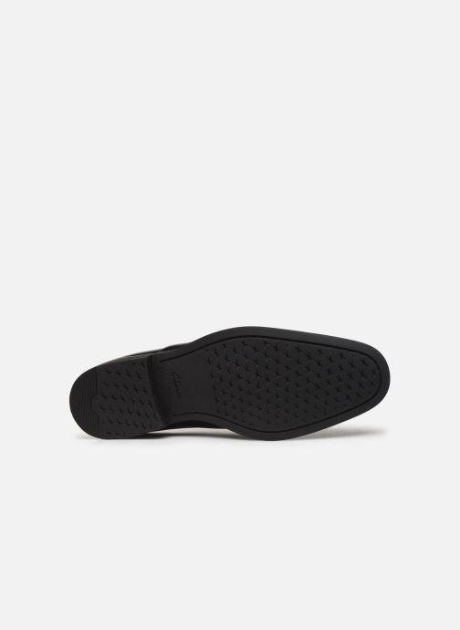 Chaussures à lacets Clarks Gilman Walk Noir vue haut