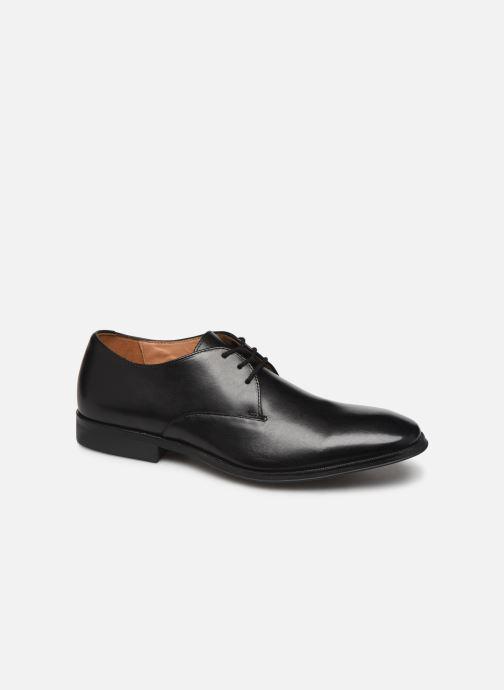 Schnürschuhe Clarks Gilman Walk schwarz detaillierte ansicht/modell