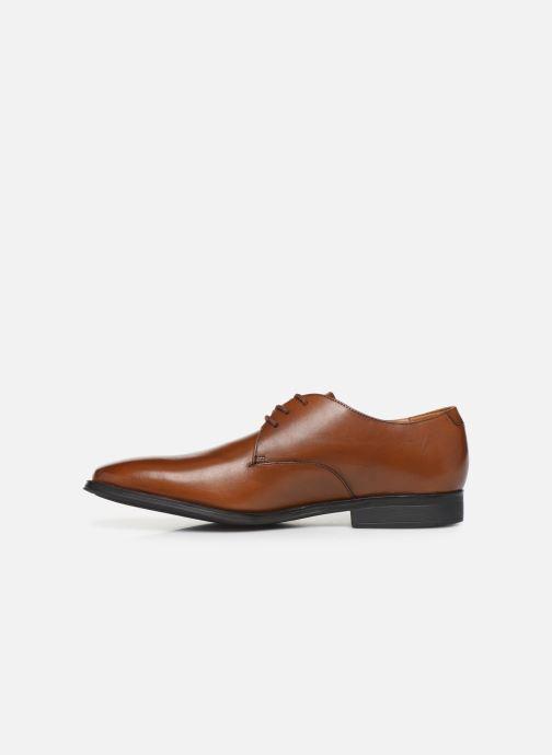 Chaussures à lacets Clarks Gilman Walk Marron vue face