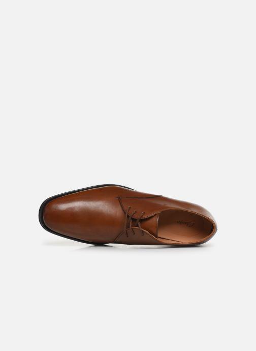 Chaussures à lacets Clarks Gilman Walk Marron vue gauche