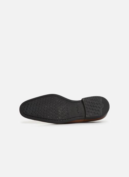 Chaussures à lacets Clarks Gilman Walk Marron vue haut