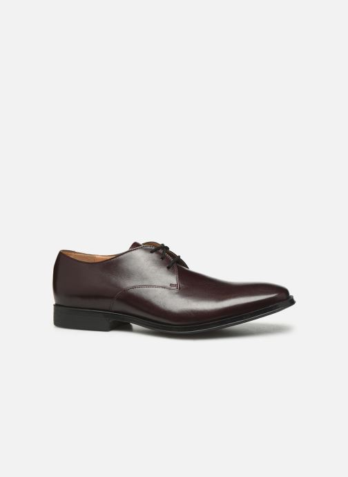 Lace-up shoes Clarks Gilman Walk Burgundy back view
