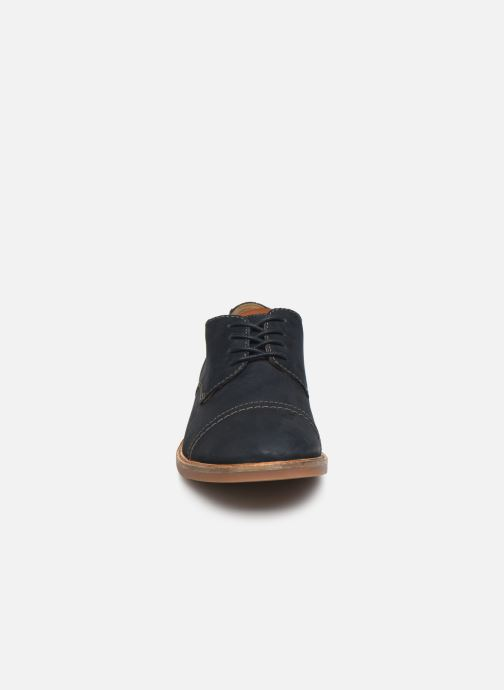 Snøresko Clarks Atticus Cap Blå se skoene på
