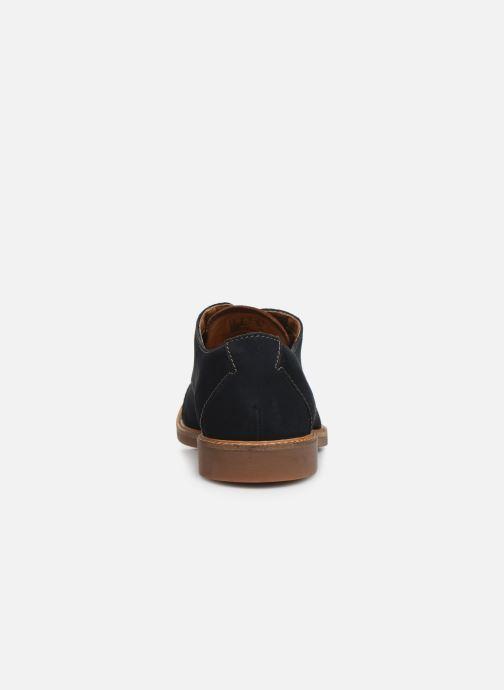 Chaussures à lacets Clarks Atticus Cap Bleu vue droite