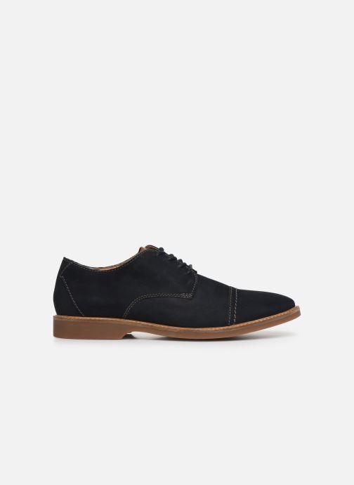 Chaussures à lacets Clarks Atticus Cap Bleu vue derrière