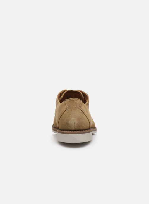 Zapatos con cordones Clarks Atticus Cap Marrón vista lateral derecha