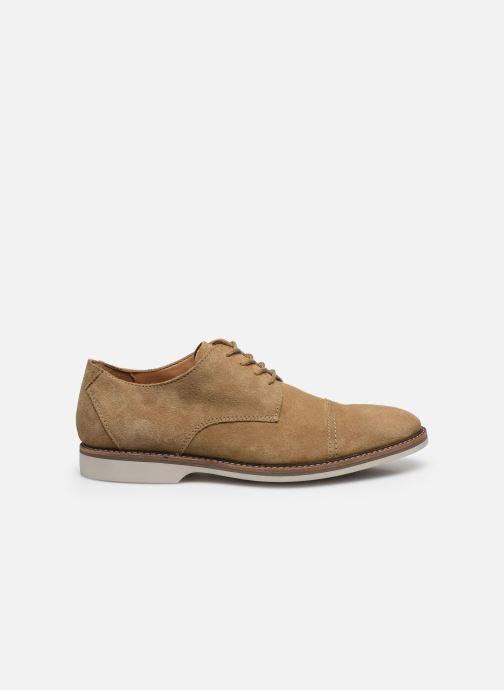 Zapatos con cordones Clarks Atticus Cap Marrón vistra trasera