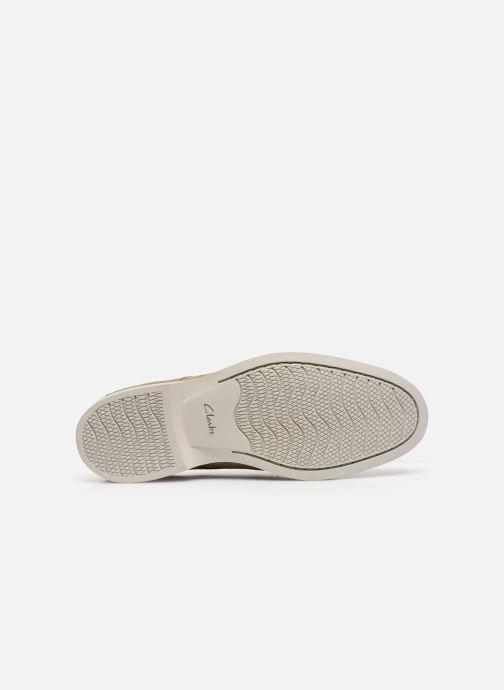 Zapatos con cordones Clarks Atticus Cap Marrón vista de arriba