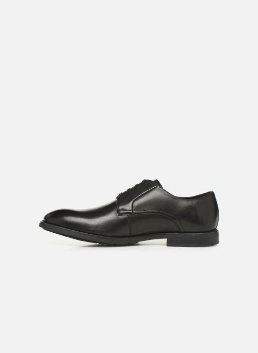 Chaussures à lacets Clarks Ronnie Walk Noir vue face