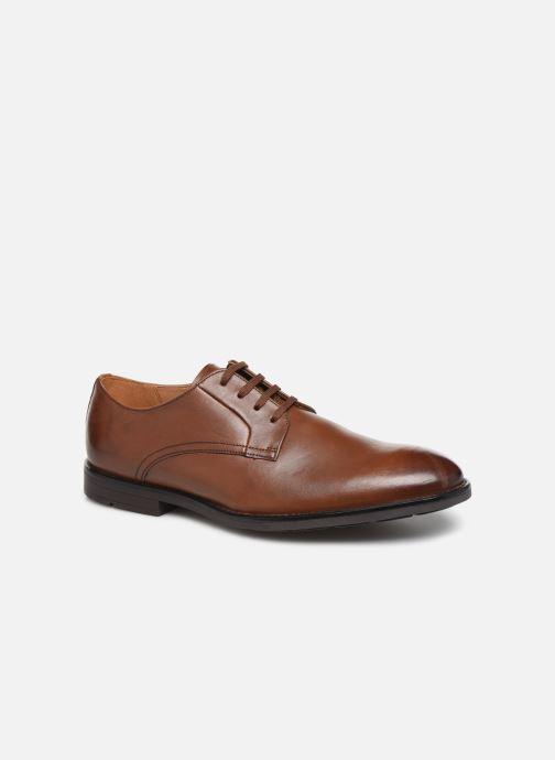 Chaussures à lacets Clarks Ronnie Walk Marron vue détail/paire