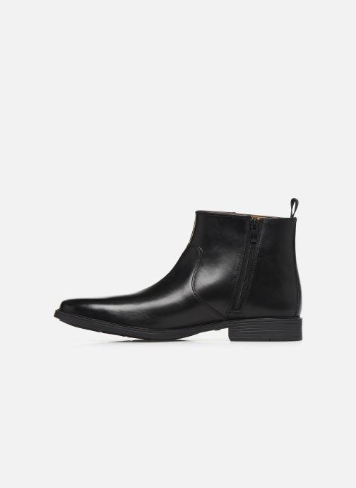 Bottines et boots Clarks Tilden UP Noir vue face