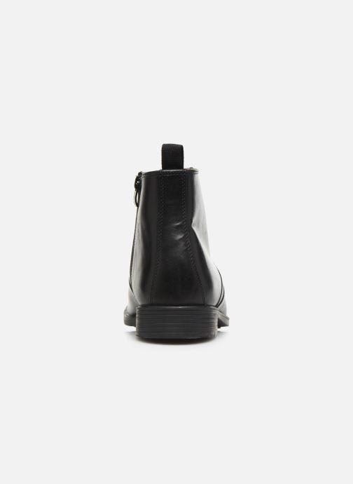 Bottines et boots Clarks Tilden UP Noir vue droite