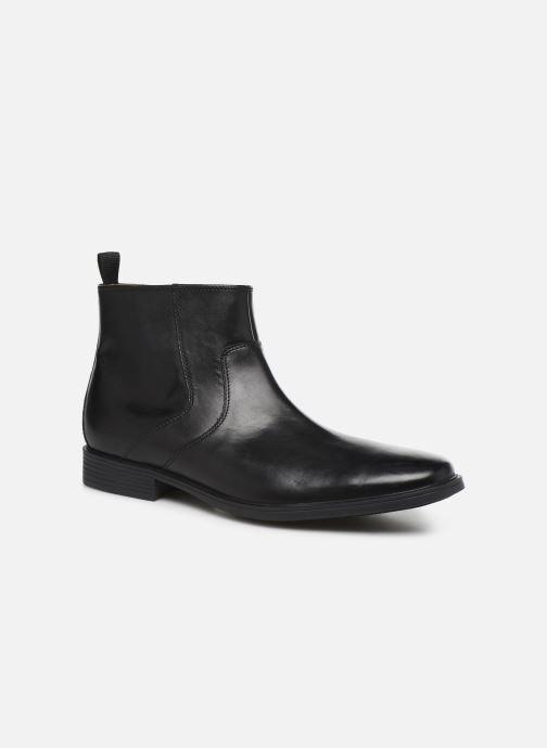 Ankelstøvler Clarks Tilden UP Sort detaljeret billede af skoene