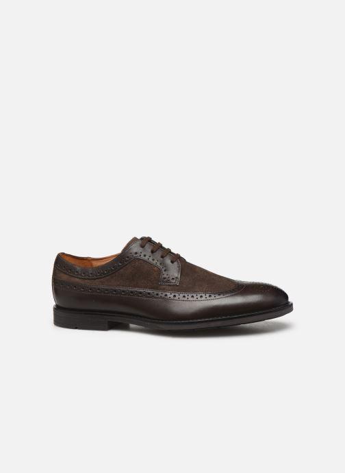 Chaussures à lacets Clarks Ronnie Limit Marron vue derrière
