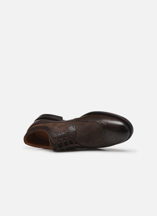 Chaussures à lacets Clarks Ronnie Limit Marron vue gauche