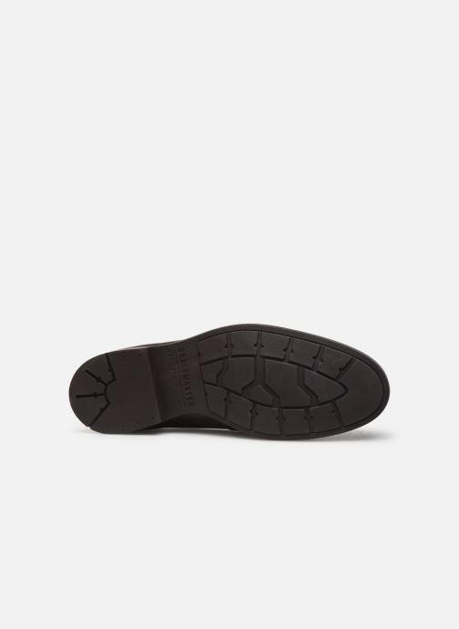 Chaussures à lacets Clarks Ronnie Limit Marron vue haut