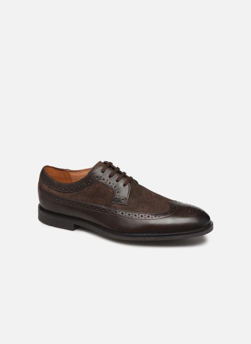 Chaussures à lacets Clarks Ronnie Limit Marron vue détail/paire