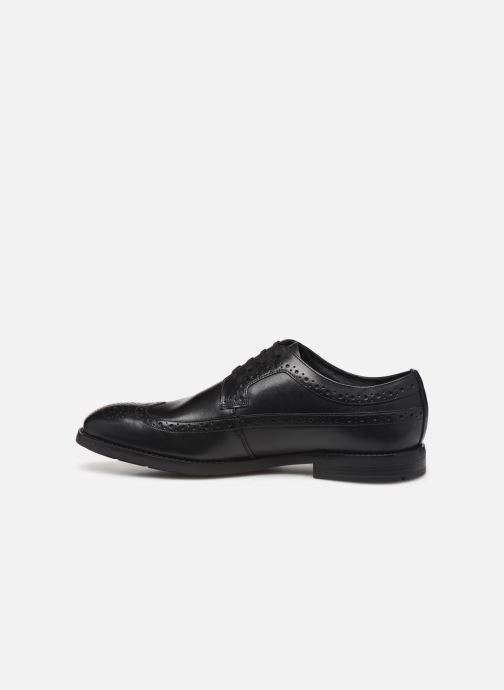 Chaussures à lacets Clarks Ronnie Limit Noir vue face