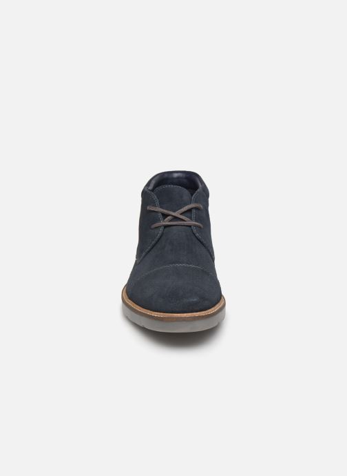 Bottines et boots Clarks Grandin Top Bleu vue portées chaussures