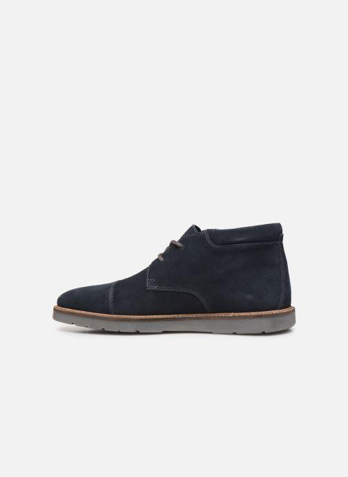 Bottines et boots Clarks Grandin Top Bleu vue face