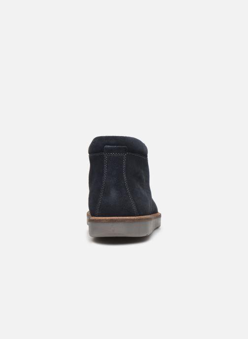 Bottines et boots Clarks Grandin Top Bleu vue droite