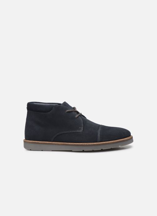 Bottines et boots Clarks Grandin Top Bleu vue derrière