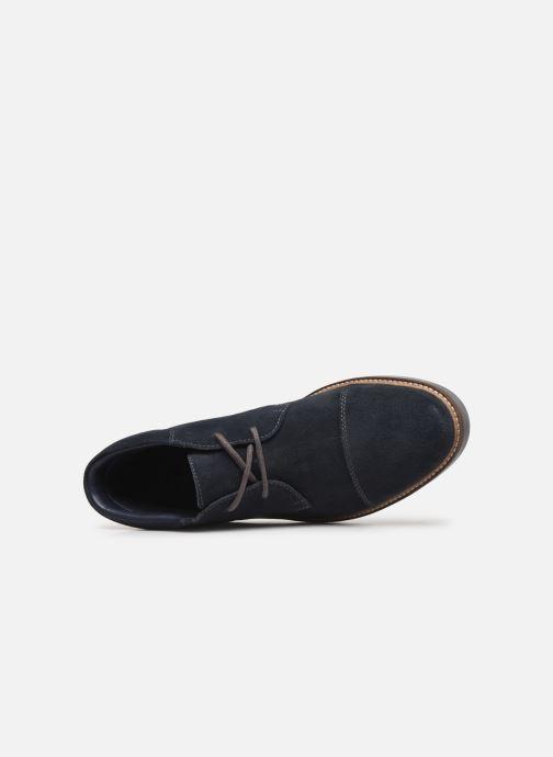 Bottines et boots Clarks Grandin Top Bleu vue gauche
