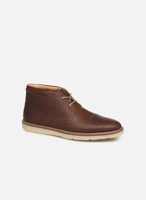 Bottines et boots Clarks Grandin Top Marron vue détail/paire