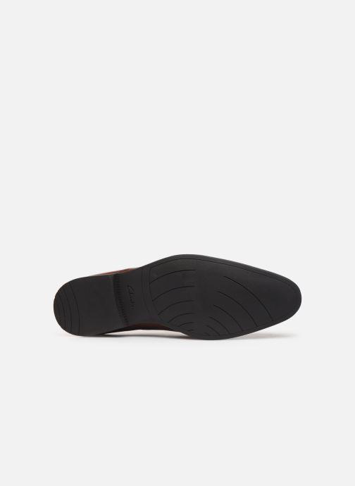 Chaussures à lacets Clarks Bampton Wing Marron vue haut