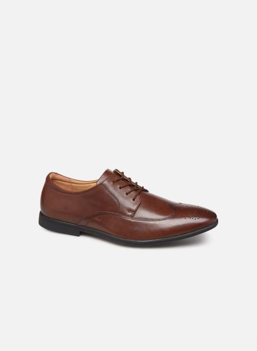 Chaussures à lacets Clarks Bampton Wing Marron vue détail/paire