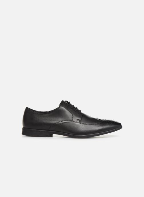 Lace-up shoes Clarks Bampton Wing Black back view