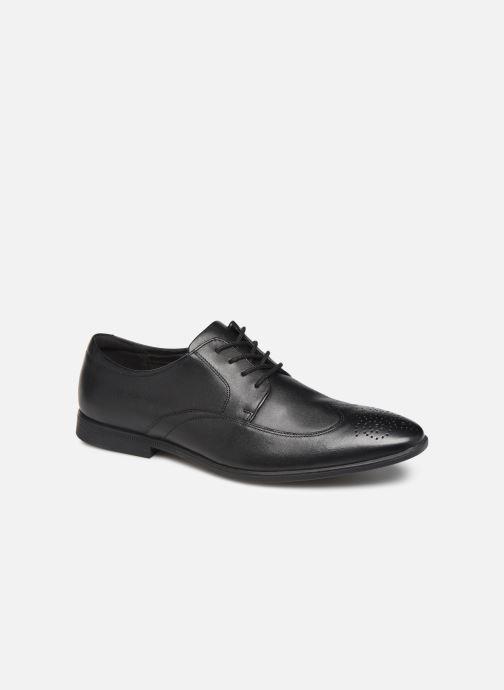 Chaussures à lacets Clarks Bampton Wing Noir vue détail/paire