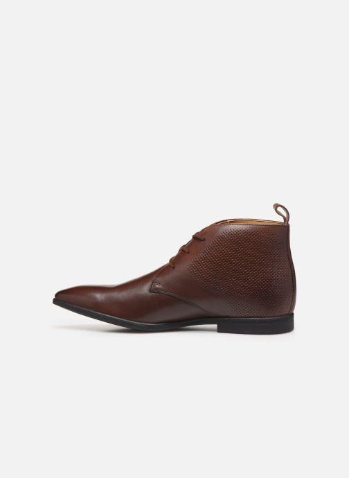 Bottines et boots Clarks Bampton Up Marron vue face