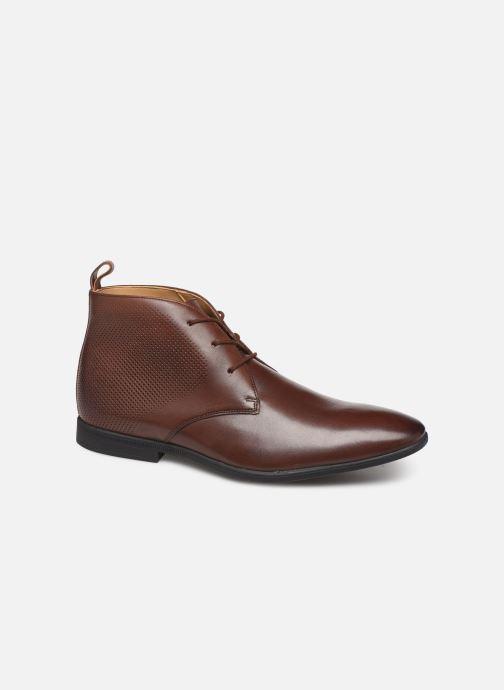 Bottines et boots Clarks Bampton Up Marron vue détail/paire