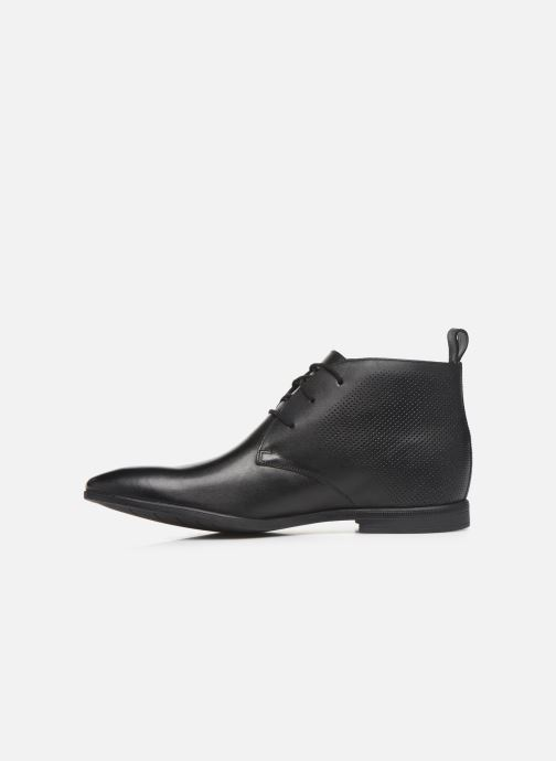 Bottines et boots Clarks Bampton Up Noir vue face