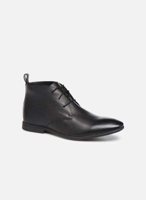 Ankelstøvler Clarks Bampton Up Sort detaljeret billede af skoene