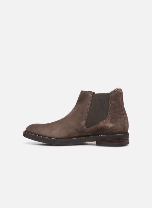 Bottines et boots Clarks Paulson Up Marron vue face